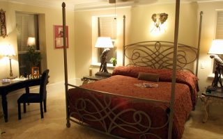 Bedroom - beautiful interior in this Dune Allen Beach FL home for rent